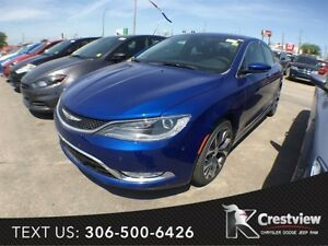 2015 Chrysler 200 C AWD V6 w/ Sunroof, Navigation