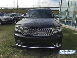 2016 Dodge Durango Citadel LOADED DEMO UNIT NEW