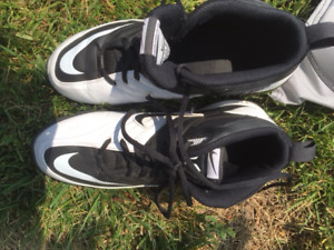 Football Cleats and Girdle