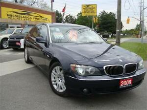 2008 BMW 750LI LOCAL CAR,NAVIGATION,LOADED