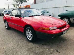 1990 Ford Capri SA Red 5 Speed Manual Convertible Woodville Park Charles Sturt Area Preview