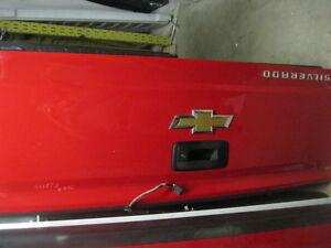 red silverado tailgate