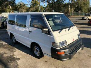 2013 Mitsubishi Express SJ Van SWB 4dr Man 5sp 2.4i White Manual Van Bass Hill Bankstown Area Preview