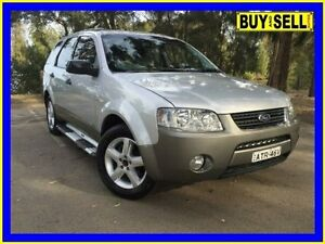 2005 Ford Territory SX TS (4x4) Silver 4 Speed Auto Seq Sportshift Wagon Lansvale Liverpool Area Preview