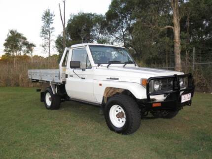 1997 Toyota LandCruiser Diesel 4x4 Ute in Exc Cond Rego & Rwc inc Robina Gold Coast South Preview