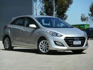 2015 Hyundai i30 GD3 Series II MY16 Active Silver 6 Speed Sports Automatic Hatchback Ravenhall Melton Area Preview