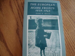The European home front Isbn;0-88295-906-9