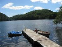 WATERFRONT COTTAGE FOR RENT  VAL DES BOIS