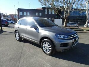2012 Volkswagen Touareg 7P MY13 150TDI Tiptronic 4MOTION Canyon Grey 8 Speed Sports Automatic Wagon Nowra Nowra-Bomaderry Preview