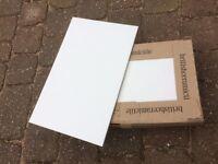 Buxton White Tiles - 250 x 400mm.