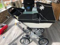 Silver Cross Elegance Pram, Pushchair & Car Seat