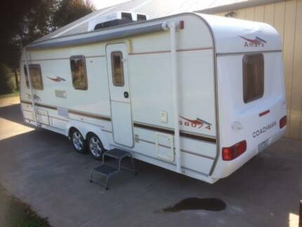 2004 Coachman Amara 580 twin axle caravan