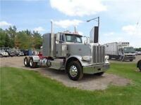 2013 PETERBILT 388 MODEL, FACTORY WARRANTY