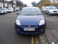 Fiat BRAVO 1.9 Multijet Dynamic 5dr, 2007 model, Long MOT, Clean in & out