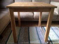 Ikea Norden square kitchen table 74cm x 74cm x 74cm