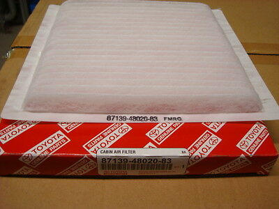 Genuine Lexus Pollen Filter IS200 & IS300, plus RX300 #1 87139-48020-83