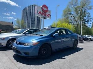 2006 Honda Civic Cpe LX ~ 158KM ~ CERTIFIED ~ AUTOMATIC