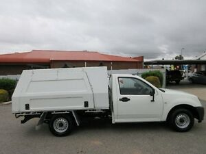 2007 Holden Rodeo RA MY07 DX White 5 Speed Manual Cab Chassis