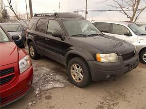 2003 Ford Escape XLT RUNS AND DRIVES LOCAL TRADE AS-IS 4X4