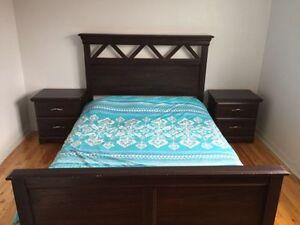 Chambre à coucher-Poêle