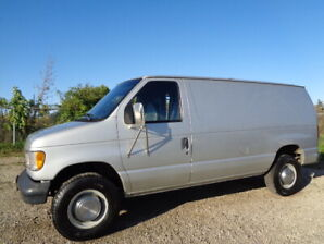 1993 FORD ECONOLINE E350 CARGO VAN-LEATHER SEAT-ONLY 54,000KM