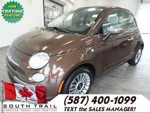 2013 FIAT 500 Lounge - Unique and full of personality! REDUCED