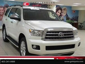 2014 Toyota Sequoia Platinum - w/ Red Rock Leather