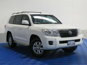 2014 Toyota Landcruiser VDJ200R MY13 GXL (4x4) White 6 Speed Automatic Wagon Jandakot Cockburn Area Preview