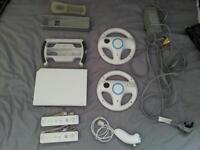 wii console gaming bundle