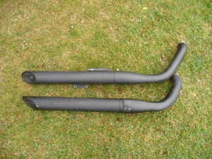 "2009 Kawasaki ""Vulcan 900 Custom"" OEM Exhaust Pipes"