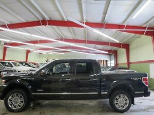 2014 Ford F-150 Platinum Pwr Board Black Beauty