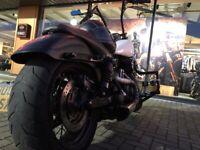 One off Custom Fat Bob Harley Davidson chopper