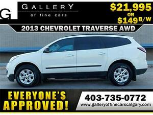 2013 Chevrolet Traverse LS AWD$149 BI-WEEKLY APPLY NOW DRIVE NOW