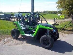 16 ARCTIC CAT WILDCAT TRAIL XT DEMO!