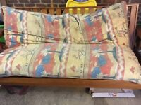 Free wooden futon with matrass