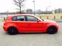 BMW 1 SERIES 2.0 118d SE 5dr (red) 2006