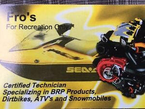 Seadoo engine rebuilds. Free winterization with full rebuild