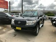 2010 Toyota Landcruiser UZJ200R MY10 GXL Black Sports Automatic Wagon Granville Parramatta Area Preview