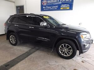 2014 Jeep Grand Cherokee Limited LEATHER NAV SUNROOF