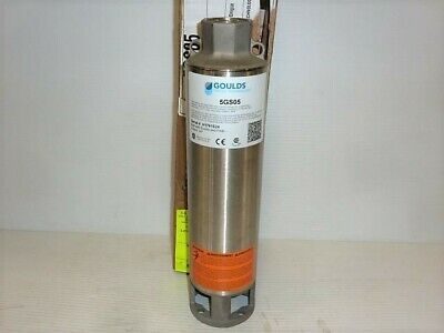 Goulds Submersible Water Well Pump End Only 5 Gpm 12 Hp 5gs05r