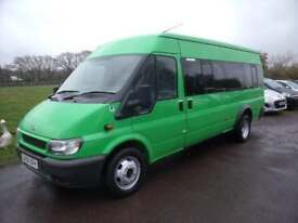 FORD TRANSIT 430E 17 SEATER MINIBUS Green Manual Diesel, 2005