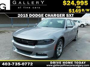 2015 Dodge Charger SXT $149 bi-weekly APPLY NOW DRIVE NOW