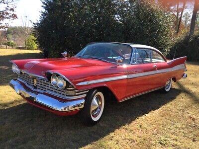 1959 Plymouth Fury Sport Fury 1959 Plymouth Sport Fury Movie Car
