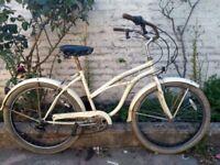 Vintage 5 speed cruiser bike