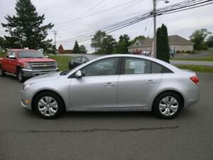 2012 Chevrolet Cruze LT Turbo w/1SA Loaded  $89. bi-wkly oac