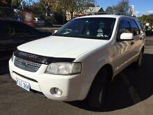 2005 Ford Territory SX Ghia (RWD) White 4 Speed Auto Seq Sportshift Wagon Campbelltown Campbelltown Area Preview
