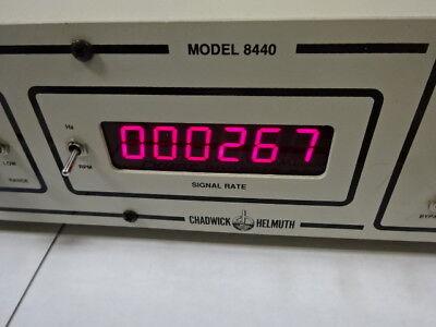 Chadwick Helmuth Strobex 8440 Velocity Accelerometer Calibration Strobe Ta-3