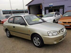 2001 Hyundai Accent LC GL Silver 4 Speed Automatic Sedan North St Marys Penrith Area Preview