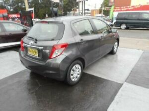 2013 Toyota Yaris NCP130R YR Hatchback 5dr Auto 4sp 1.3i Grey Automatic Hatchback Croydon Burwood Area Preview