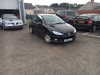 Peugeot 206 HDi, **£30 Tax**, Long MOT, Serviced, Warranty, Great Condition
